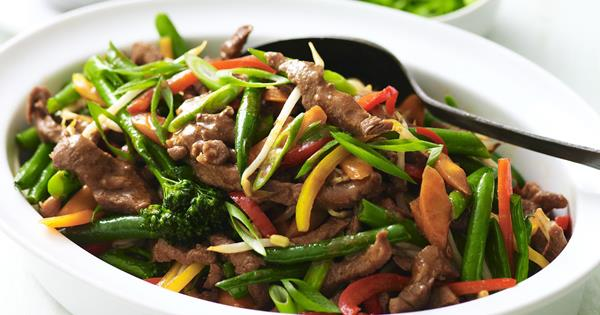 Mutton-Sliced with Black Bean Sauce